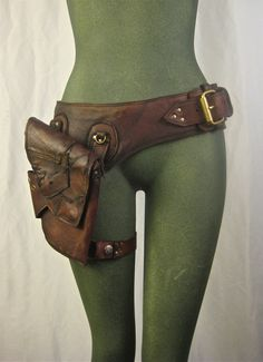 Leather hip/thigh bag (by Renegadeicon, $188.00)                                                                                                                                                                                 More