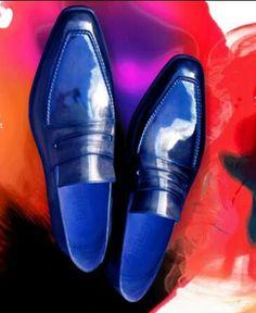 #Zapatos Berluti club warhol  blue #Shoes