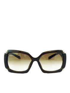 975207c37aa2 Louis Vuitton Hortensia Glitter Sunglasses Brown