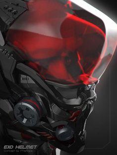 ArtStation - Exo-Helmet Concept, ahmed maihope