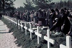 Sankarihautajaiset. Sankarivainajien muistopäivän tilaisuus Joensuussa 19.5.1940.