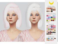 The Sims Resource: LeahLillith`s Hoola hair retextured by Kalewa-a - Sims 4 Hairs - http://sims4hairs.com/the-sims-resource-leahlilliths-hoola-hair-retextured-by-kalewa-a/