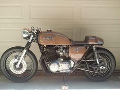 modernmoto:  1980 Honda CB750 Cafe Racer