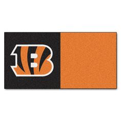 Cincinnati Bengals NFL Team Logo Carpet Tiles