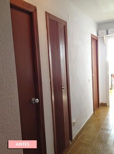 antes-despues-puertas-casa-viejas-nordicas-encanto-pintura House Stairs, Furniture Restoration, Home Organization, Chalk Paint, Vintage Shops, Diy Crafts, Mirror, Design, Home Decor