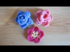 Appliques Au Crochet, Crochet Flower Patterns, Flower Applique, Crochet Motif, Irish Crochet, Crochet Doilies, Easy Crochet, Crochet Stitches, Crochet Leaves