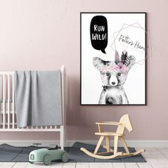Bear Nursery Print, Woodland, Printable Wall Art, Baby Girl, Digital Prints, Instant Download, Nursery Decor, Kids Room Decor, Baby Shower Bear Nursery, Nursery Art, Nursery Decor, Room Decor, Nursery Prints, Printable Wall Art, Woodland, Digital Prints, Kids Room