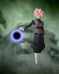 Black Goku Super Saiyan Rose by Janus-Lynx on @DeviantArt