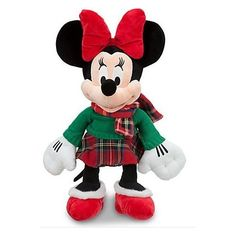 Minnie Mouse 17 Inch Christmas Disney Store Exclusive 2012 Plush *** Check out this great product.