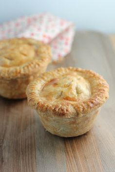 The Devil's Food Advocate: Miniature Meat Pies Based on a traditional French-Canadian meat pie 'Tourtiere'