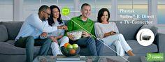 Ahora, y por tiempo limitado, sus Audeo B-Direct con el 25% de descuento y de regalo un TV Connector, para conectarte directamente al móvil y a la televisión. Centro Auditivo Cuenca.