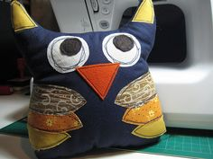 Owl - scrappy - stitched - awesome