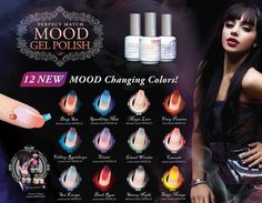 LeChat Perfect Match MOOD Color Changing Gel Polish (NEW 25-36)!!!!! #LeChat