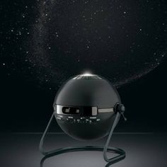 Transform your home into a stunning planetarium! Create consistently perfect stargazing conditions with the Home Planetarium projecting 10,000 stars in a true rotating sky image of the northern and southern hemispheres. Choose to see the sky as it is, or with constellations outlined. For added realism, don't forget to turn on shooting stars!