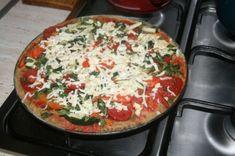Celozrnná diétna pizza - Recept pre každého kuchára, množstvo receptov pre pečenie a varenie. Recepty pre chutný život. Slovenské jedlá a medzinárodná kuchyňa