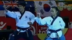 VIDEO : Freestyle Pair Over 17 at the 9th World Taekwondo Poomsae Championship | Pinoy Headline dot Com