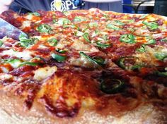 Daredevil pizza at Trophy Brewing, Raleigh- NC Triangle Dining