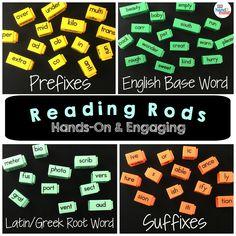 Spelling Activities, Group Activities, Hands On Activities, Literacy Stations, Literacy Skills, Literacy Centers, Sentence Building, Word Building, Latin Root Words