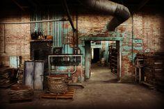 Abandoned Hycroft China Factory