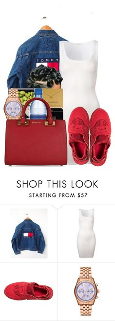 """""""Untitled #2952"""" by alisha-caprise ❤ liked on Polyvore featuring American Vintage, NIKE, Michael Kors and MICHAEL Michael Kors"""