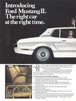Ford Mustang II 1973 Ad Picture