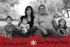 diy christmas card at picmonkey.com // free!!