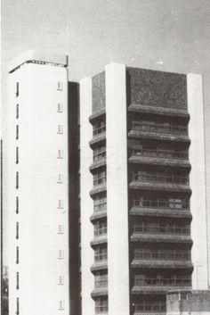 Se termina la construcción del edificio de oficinas Torre ABA, ubicado en la Avenida Veracruz de la Urbanizción Las Mercedes, diseñado un año antes por el arquitecto Julio Maragall y el ingeniero Jaime Luschinger.