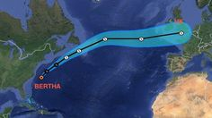Is 'Ex-Hurricane Bertha' heading toward the UK? - http://news54.barryfenner.info/is-ex-hurricane-bertha-heading-toward-the-uk/