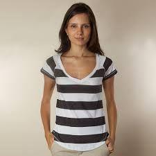 Resultado de imagem para camisas de malha femininas manga curta
