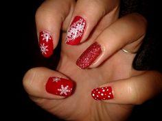 vánoční červené nehty - Hledat Googlem