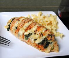 Hasselback Chicken -- Cajun With Pepper Jack & Spinach