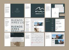 Three Waters, logo and identity by Lantern, London Collateral Design, Identity Design, Brochure Design, Visual Identity, Minimal Graphic Design, Japanese Graphic Design, Graphic Design Posters, Brand Guidlines, Property Branding