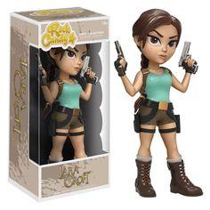 BLOG DOS BRINQUEDOS: Tomb Raider Lara Croft Rock Candy Vinyl
