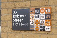 Stockwell Park signage.