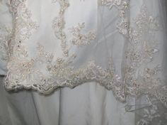 How to Hem a Wedding Gown with a Lace Hem - Sew Much Talent