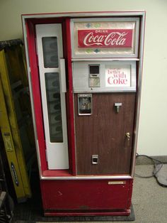 Coke Machine ~ My brothers and I would walk a few blocks to a motel that had a machine like this and we'd buy ourselves each a bottle. I think it was only 35 cents and then we were surprised to see the price go up to 45 cents!!