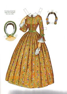 Godey's Early Victorian Fashions