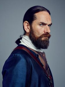 Duncan Lacroix as Murtagh Fitzgibbons Fraser, Outlander Season 2.....Dragonfly In Amber.