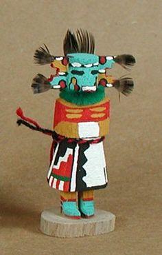 Authentic Native American Hopi kachina doll by Loretta Multine Navajo/Hopi