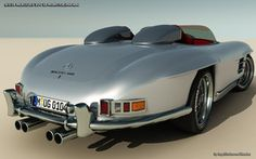 mercedes_300sl_monster_concept_roadster - meet your match at http://www.millionairematch.com/