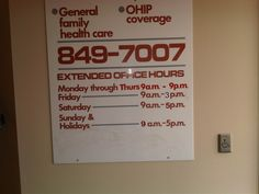 MCI clinic hours and phone number Doctor Office, Saturday Sunday, Clinic, Health Care, Number, Phone, Telephone, Phones, Health