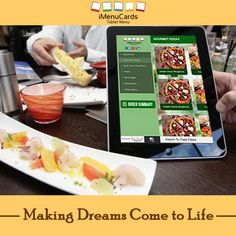 Stop at Nothing! Get a Tablet Menu with All the Latest features! Know more here: www.imenucards.com  #imenu #tabletmenu #digitalmenu #restaurant