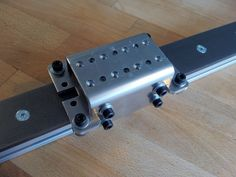 Linear carriage for cold rolled steel