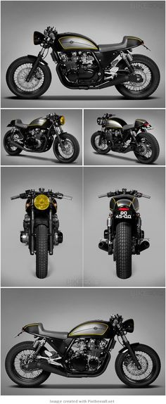 pinterest.com/fra411 #KAWASAKI ZEPHYR BY TON-UP GARAGE - created via http://pinthemall.net