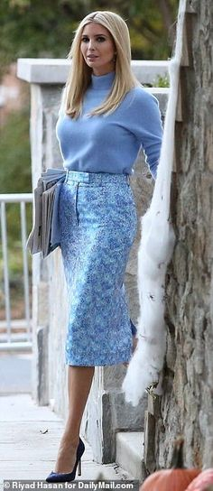 Discover recipes, home ideas, style inspiration and other ideas to try. Ivanka Marie Trump, Ivanka Trump Style, Ivanka Trump Photos, Ivanka Trump Outfits, Modelista, Elegant Outfit, Classy Women, Business Fashion, Classy Outfits
