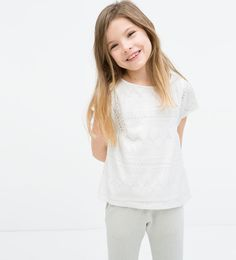 ZARA - ENFANTS - CHEMISIER À BRODERIES