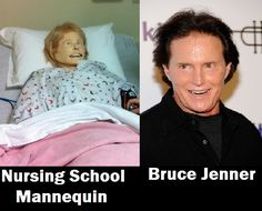 Bruce Jenner is SIM Man. might have found this a little too funny. Nursing School Humor, Nursing Memes, Funny Nursing, Nursing Quotes, School Memes, Medical Humor, Nurse Humor, Rn Humor, Pharmacy Humor