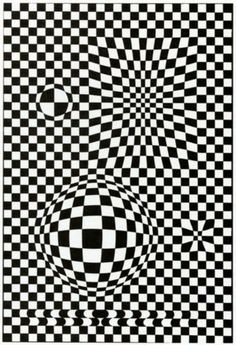 Vega - Victor Vasarely. It's all about perspective Geometrics