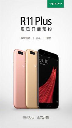 Названа дата начала продаж Oppo R11 Plus. Компания Oppo назвала дату старта продаж смартфона Oppo R11 Plus. Согласно тизеру, Oppo R11 Plus станет доступен в Китае в трех цветовых вариантах — золотистом, розовом и черном, по цене порядка 540 долларов США.  Читать далее - https://r-ht.ru/new/nazvana_data_nachala_prodazh_oppo_r11_plus/2017-06-27-6641  #OppoR11Plus #дата #начала #продаж