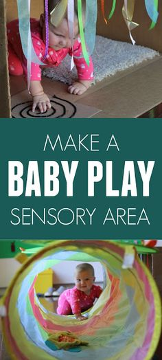 Easy Baby Sensory Play Area Ideas – Crafts & Activities for Babies and Toddlers – - Education and lifestyle Baby Massage, Infant Activities, Activities For Kids, Baby Play Areas, Toddler Play Area, Infant Play, Infant Art, Baby Sensory Play, Sensory Play For Babies